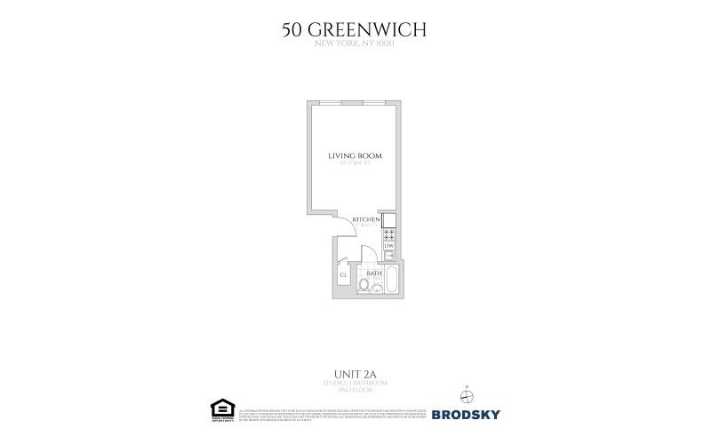 50 Greenwich Avenue - 2B