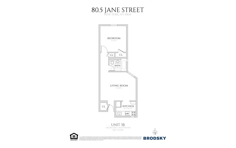 80 1/2 - 82 Jane Street - 3B 3B