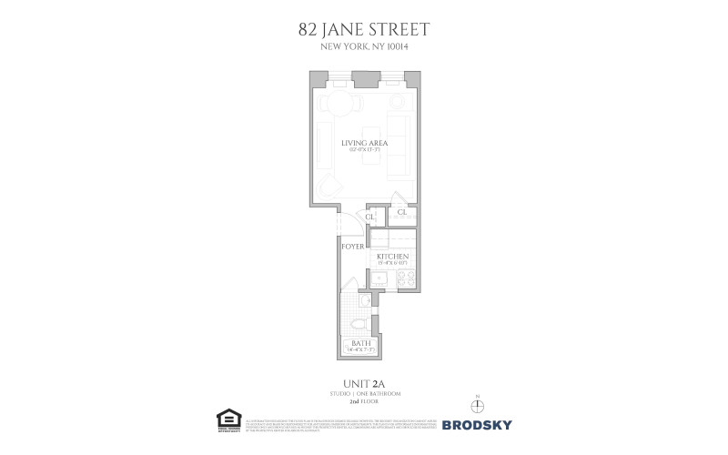 82 Jane Street - 2A