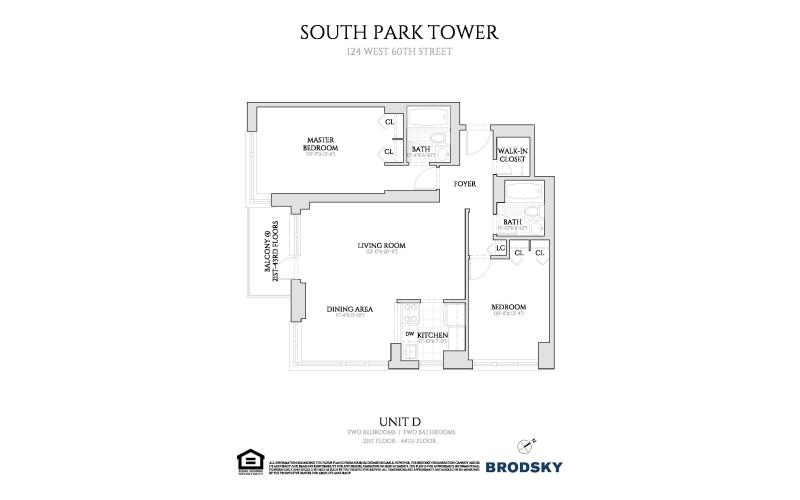 South Park Tower - D Line 21-44