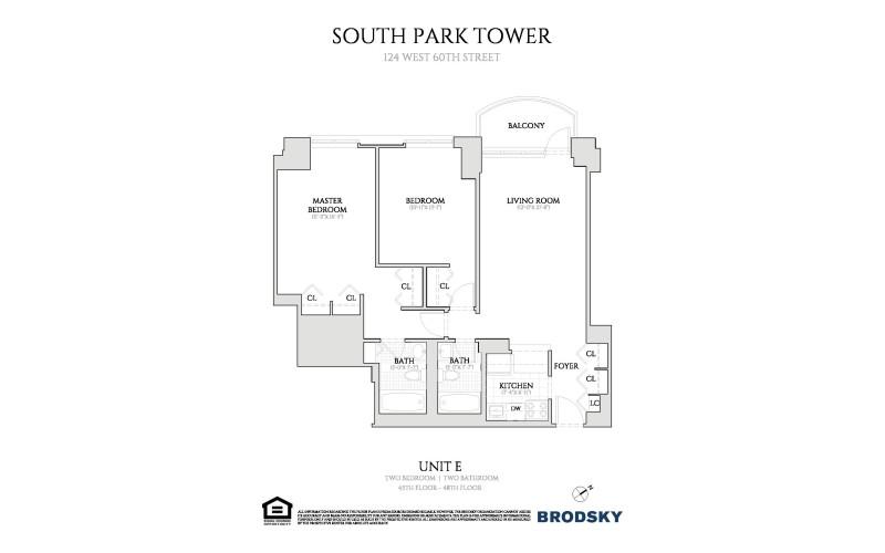 South Park Tower - E line 45-48