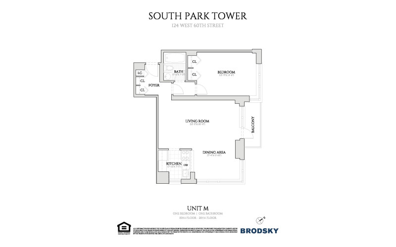 South Park Tower - M Line 10-20