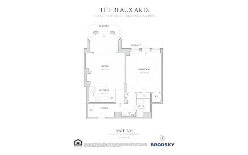 The Beaux Arts - 1604 16th