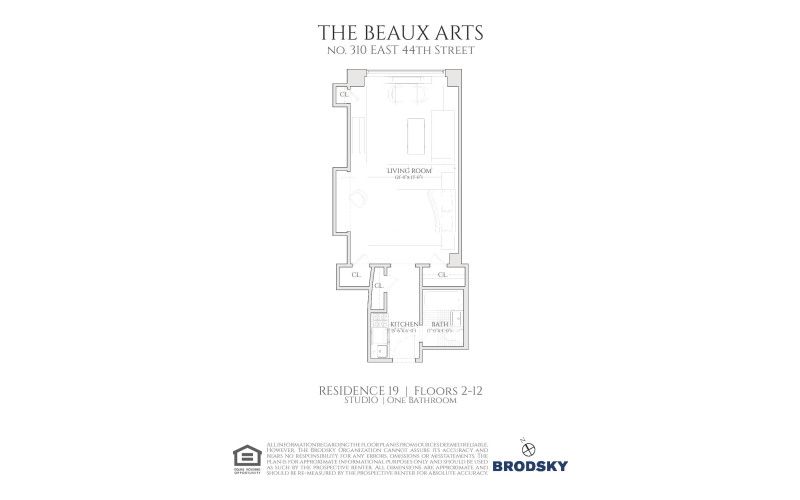 The Beaux Arts - 19 2 to 12