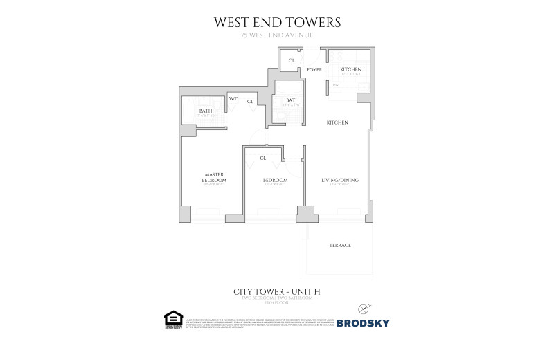 West End Towers - City  15 H