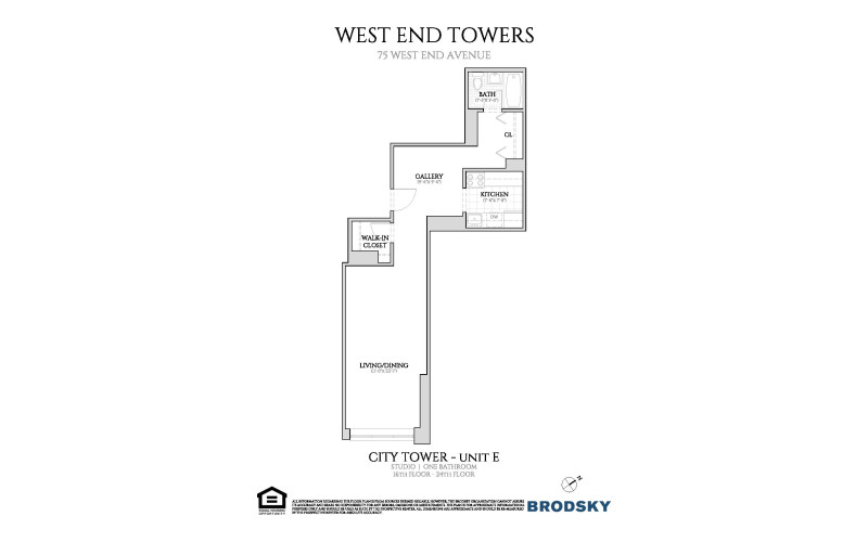 West End Towers - City  16-24 E