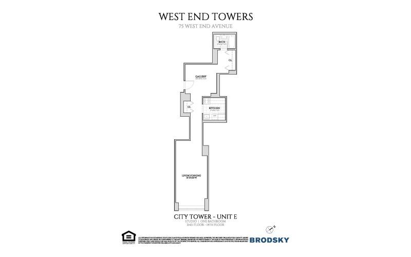 West End Towers - City  2-14 E