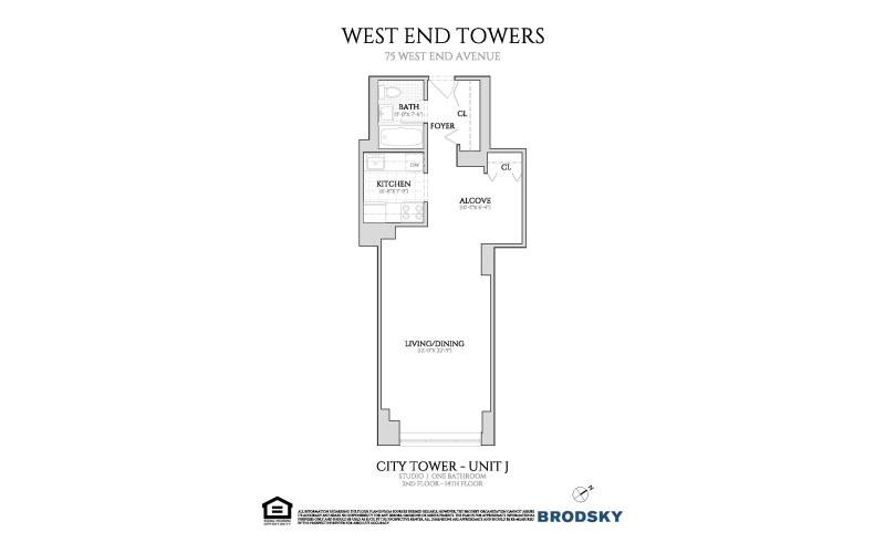 West End Towers - City  2-14 J