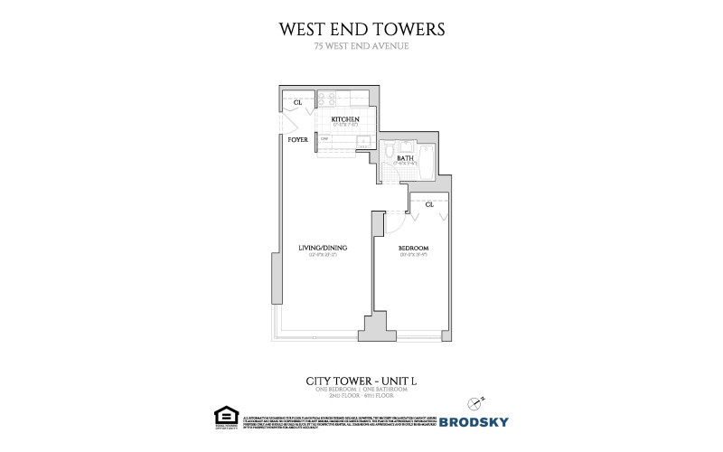 West End Towers - City  2-6 L