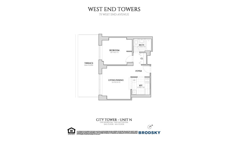West End Towers - City  2-6 N