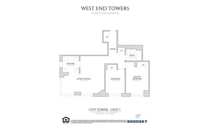 West End Towers - City  7-14 L