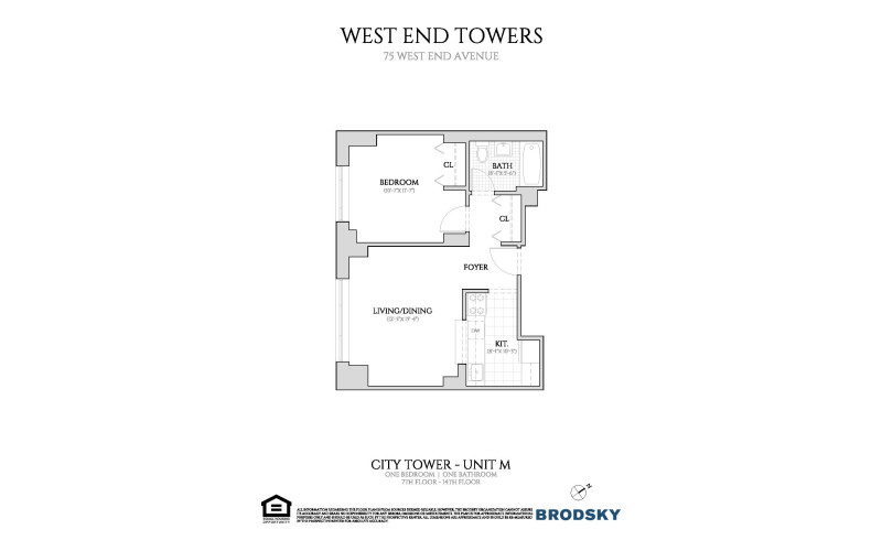 West End Towers - City  7-14 M