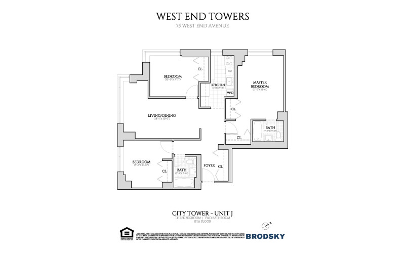 West End Towers - City Tower J (3BD) 15-24