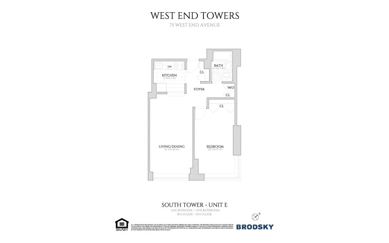 West End Towers - South Tower E With W.D.   8-15