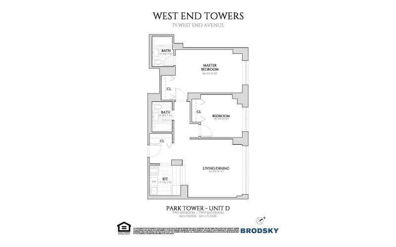 West End Towers - Park 16-24 D