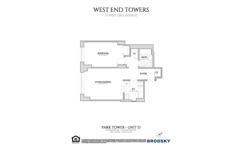 West End Towers - Park 2-14 D