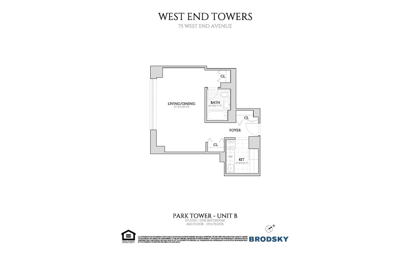 West End Towers - Park 2-15 B