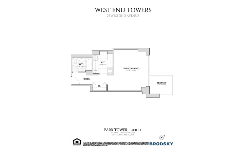 West End Towers - Park 7-14 F