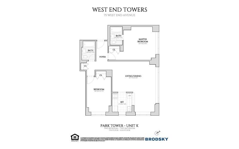 West End Towers - Park 7-14 K