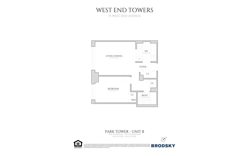 West End Towers - Park Tower B Renovated W.D. 16-24