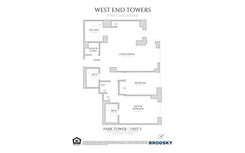 West End Towers - Park Tower E, W.D.  16-24
