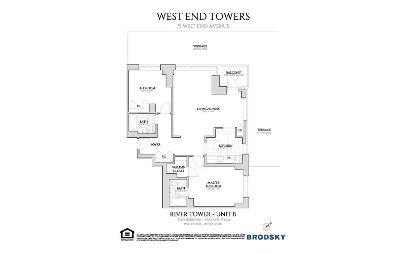 West End Towers - River 15-25 B