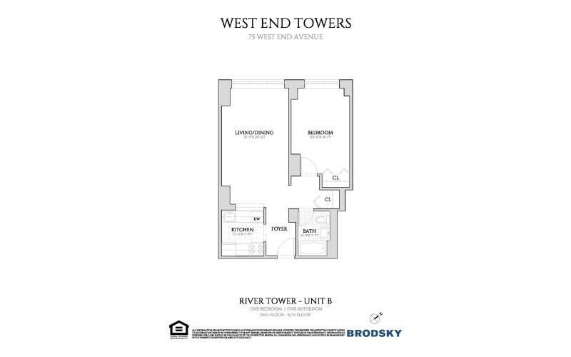 West End Towers - River 2-6 B