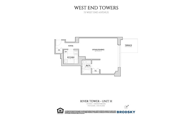 West End Towers - River 7-14 H