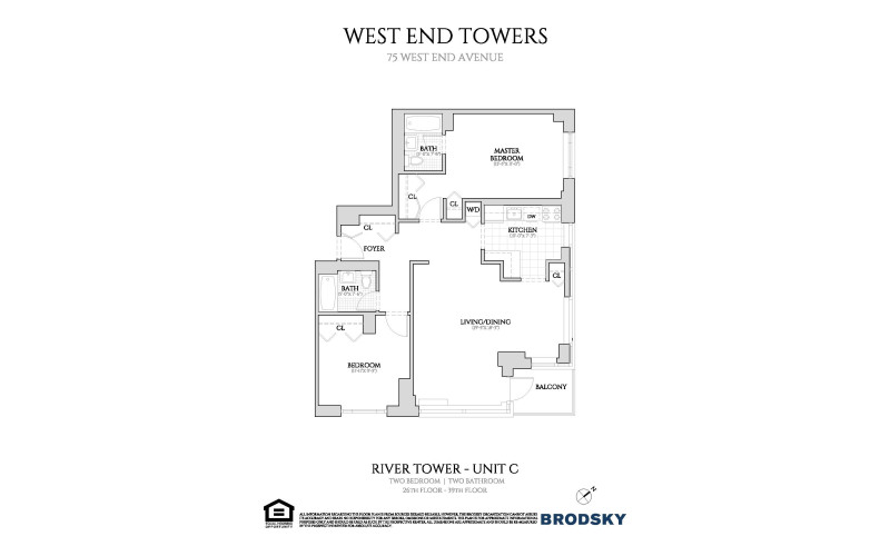 West End Towers - River C, Renovated W.D 26-39