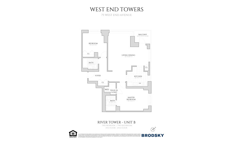 West End Towers - River Tower B W/D  16-24