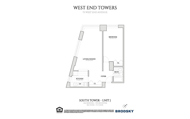 West End Towers - South 3-7 J