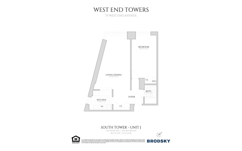West End Towers - South Tower j W.D. 3-7
