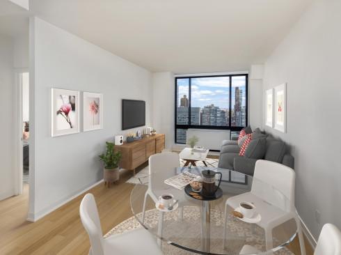 1 Columbus Place N35A VS Living Room