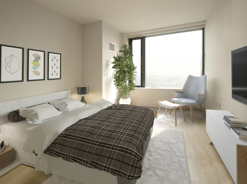 City Tower - Bed Room
