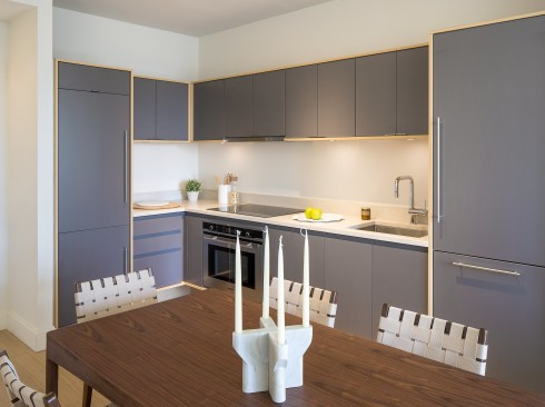 City Tower - Kitchen-Dining