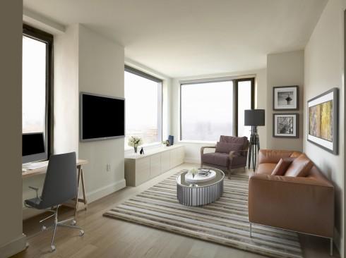 City Tower - Living Room Render 2