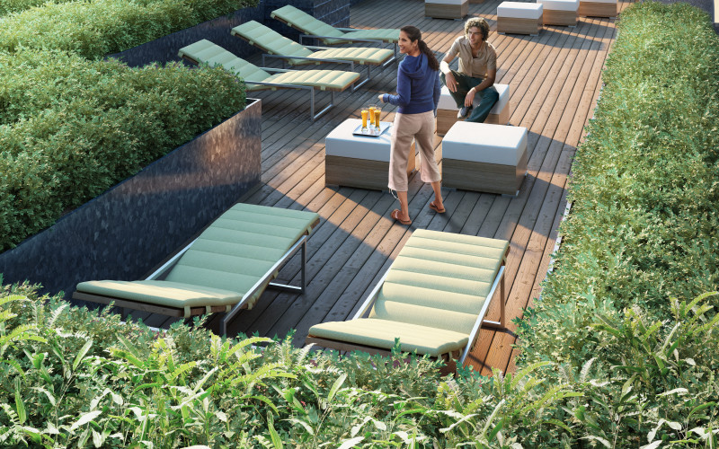 Chelsea Enclave North Rooftop Sundeck