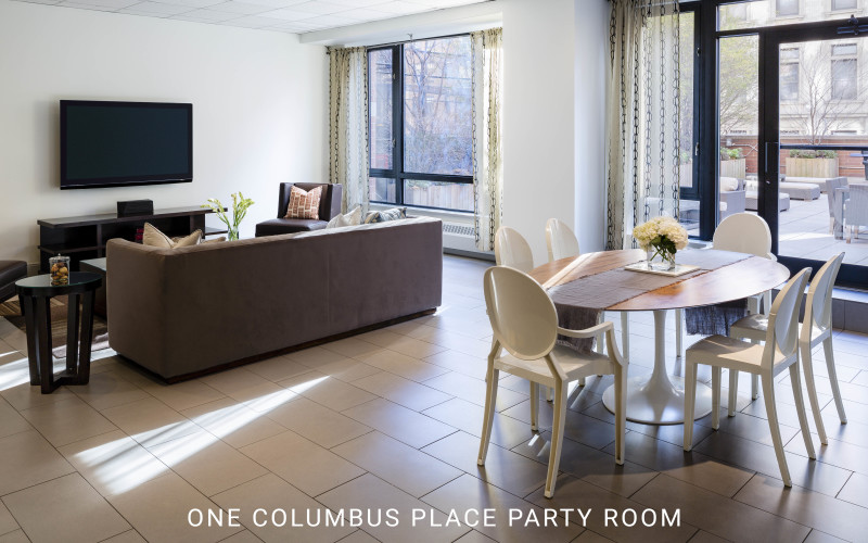 One Columbus Place Party Room