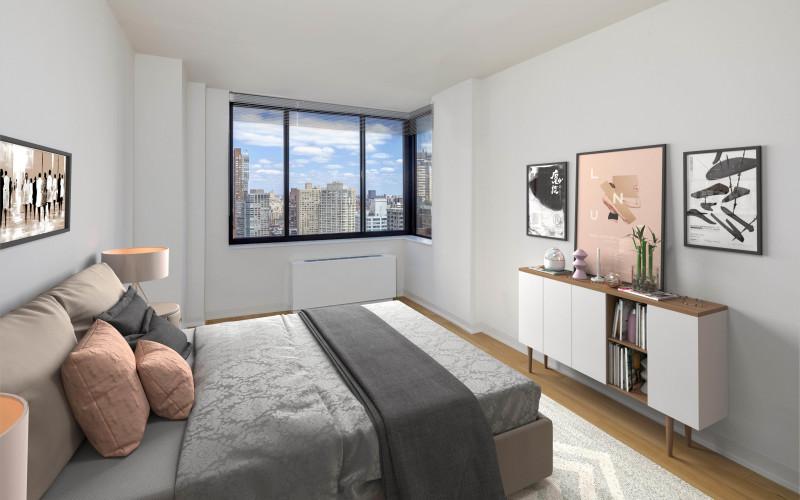 1 Columbus Place N35A VS Bedroom