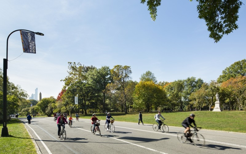 Central Park Bike Path