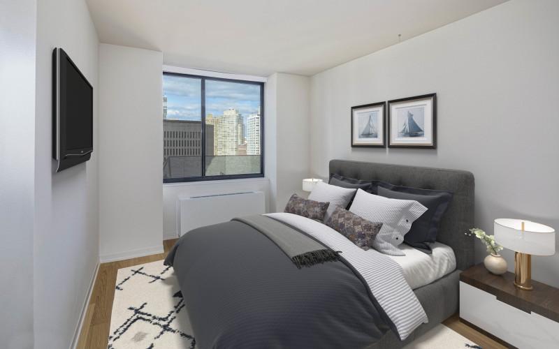 1 Columbus Place N17N Bedroom VS