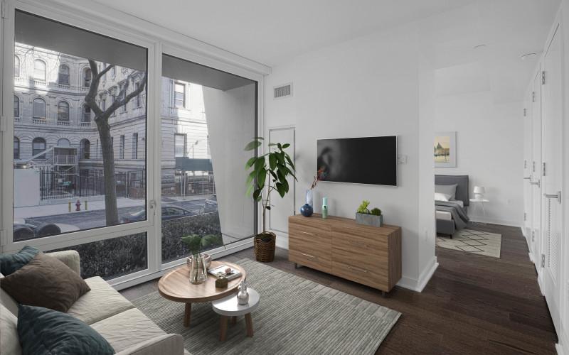 Enclave - 212-Living room Staged