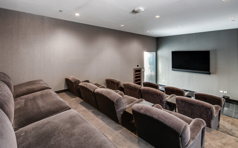 Enclave at the Cathedral - Movie Room