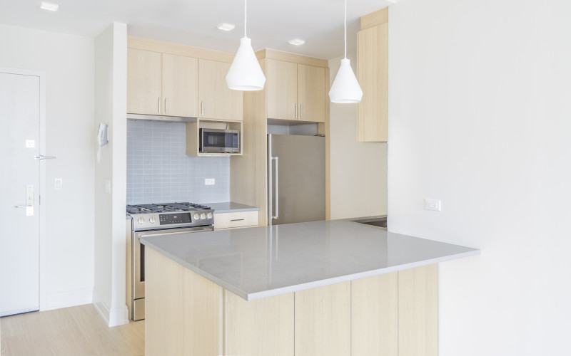 One Columbus Place S17H-KITCHEN-OVERVIEW