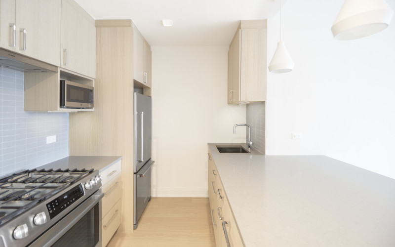 One Columbus Place - S17H-KITCHEN