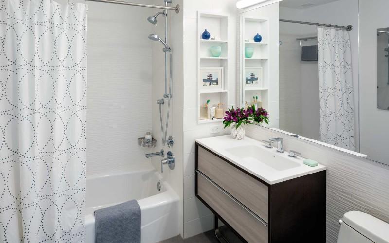 City Tower Bathroom Render